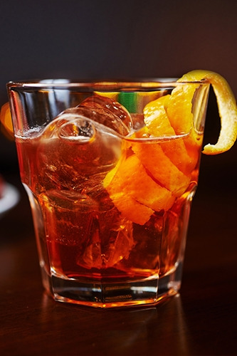 Rhum old-fashioned