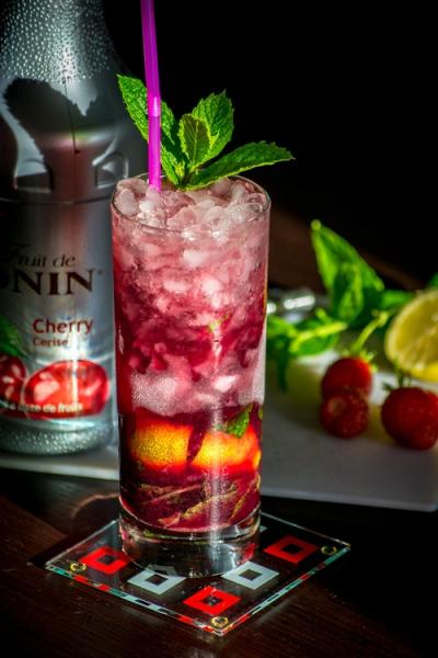 recette cherry mojito un cocktail alcoolis. Black Bedroom Furniture Sets. Home Design Ideas